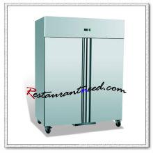 Refrigerador de lujo de la cocina de R205 2 puertas que se refresca / congelador vertical de la cocina