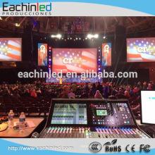 mur visuel d'intérieur de p4 LED / vidéo portable a mené le mur visuel pour le stand de dj