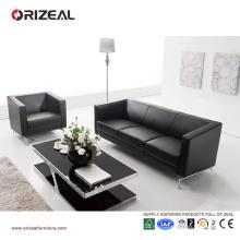 Sofá moderno de cuero italiano de Orizeal fijado para la venta (OZ-OSF002)