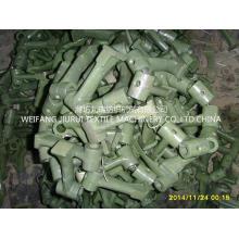Máquinas têxteis principalmente peças de um