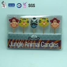 Herstellungs-Tier geformte Dekoration Party Candle Supplier