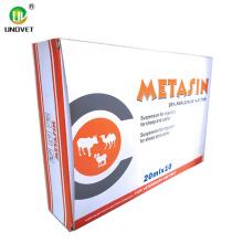 Inyección de metamizol sódico al 30% para uso veterinario