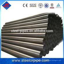 Plan de productos de calidad 40 tubos de acero de carbono erw