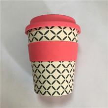 Экологичные кофейные кружки на вынос из бамбукового волокна