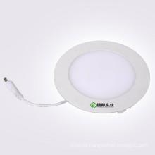 Luz delgada del panel de la luz redonda del panel de 6W LED con el conductor de IC