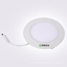 Voyant mince de panneau rond de 6W LED avec le conducteur d'IC