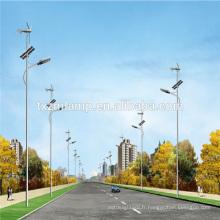 nouveaux fabricants de lumière de rue mené par prix direct usine solaire solaire, hybride solaire réverbère hybride