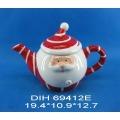 Teiera in ceramica a forma di Santa