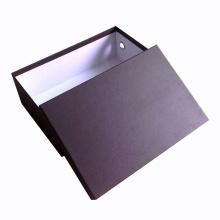 Caja de zapatos de empaquetado del papel de la cartulina del diseño modificado para requisitos particulares