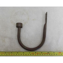 Simple Coated Wrought Iron U-Hooks Hangers