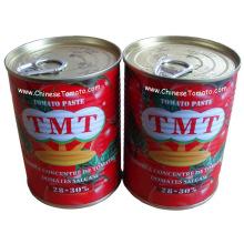 Pasta de tomate en conserva (TMTbrand tamaño 400g producton línea)