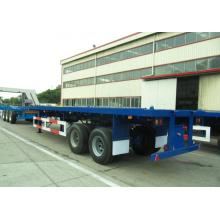 Hot sale Factory for CIMC Flatbed Trailer Super Strong Flatbed for Bad Road Condition supply to Pakistan Factory