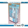 Caja de plástico transparente para cosméticos y regalos