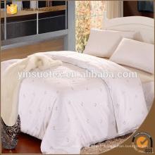 White 60s Hotel Bed Sheet, Housse de couette de l'hôtel, Housse d'oreiller de l'hôtel