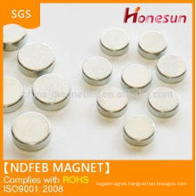 2014 strong magnet sintered neodymium magnet disc shape