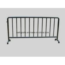 Barreiras de isolamento de barreira temporária de aço inoxidável