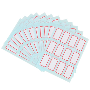Clear Adhesive Sticker Labels