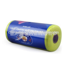 Needle-punched nonwoven roll