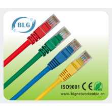 Colorfull Jacket Cat5e Copper UTP Solid Patch Cord