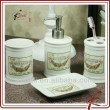Conjunto de banho de porcelana