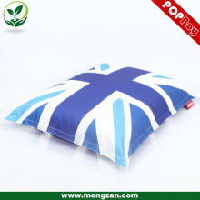 digital printing huge beanbag/ long beanbag sofa chair
