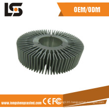 ADC12 Aluminum Heat Sink with Anodizing and Machining Parts