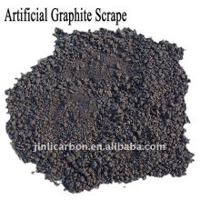 Trozos de electrodo de grafito / GES para acero y fundición