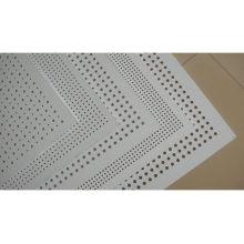 Stahl Perforierte Wire Mesh / Powder Coated Perforierte Metall Mesh