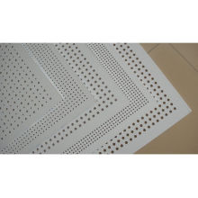 Malla de alambre perforado de acero / malla de metal perforada recubierta de polvo