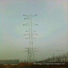 Circuito único de 220 kv y circuito doble de 110 kv y torre de tubo de acero de cuatro circuitos de 10 kvv