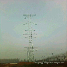 220 Kv Single Circuit and 110 Kv Double Circuit and 10 Kvv Four Circuit Steel Tube Tower