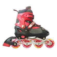 Inline Skate Children Red Protective Gear