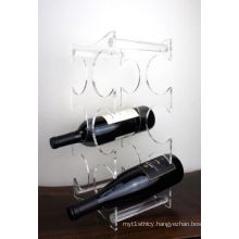 Pop Acrylic Display Stand for Wine Bottles, Advertising Display