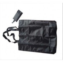 Customized Polyester Reusable Bags, Fabric Foldable Carrier Bag With Nylon Belt Handle