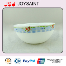 Hochwertige Dekoration Deep Glass Oval Bowl Gebrauch für Haus