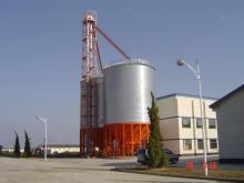 Small Galvanized Grain Storage Steel Silo for Sale