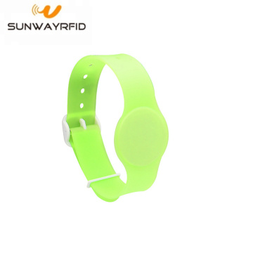 RFID NTAG210 PVC Adjustable RFID Wristbands