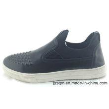 PU Casual Slip-on sapatos para homens