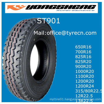 Radial Truck Tire Loading Tire 1100r20 1000r20 Manufacture