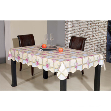 White Film PVC Opaque Printed Tablecloth Factory Wholesale