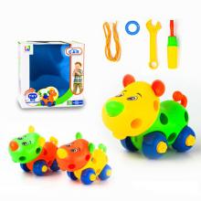 Juguete educativo del regalo Juguete de la historieta del oso del juguete DIY para la promoción (H9810011)