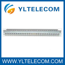 ZTE 25 pares de módulos de protección Cuadro de distribución principal 19 pulgadas Sub Rack para POTS / DSL