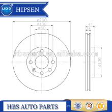 260mm Bremsscheibenpad ATE 4241.66 / 424166/4241 66 Für OPEL / SAAB / VAUXHALL