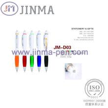 Супер подарки Промотирования ручка Жм-d03 с одним светодиодом