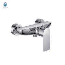 КР-03 водяной ванная комната твердый латунный керамический клапан душевая щепка одной ручкой настенный ванна смеситель