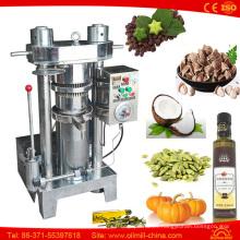 Máquina de la prensa del aceite de coco de la camelia de la almendra del sésamo de la nuez del sésamo