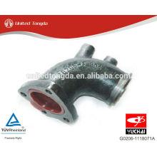 Motor YUCHAI YC4G Después del tubo de escape de la turbina G0206-1118071A
