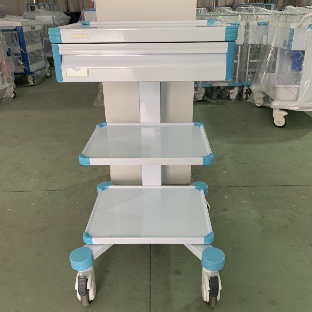 Hospital Convenient Instrument Trolley Cart