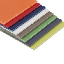 Hojas multicolores G10 para aletas