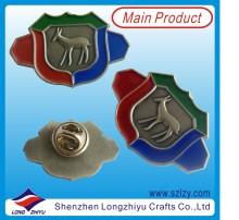 Antique Custom 3D Personalized Logo Badge (LZY-1000080)